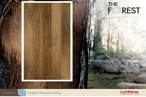 คัมพานา นำเสนอไอเดียชีวิตใกล้ชิดธรรมชาติ ผ่านกระเบื้องเซรามิก The Forest และ The Mountain