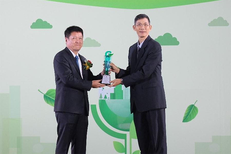 เอสซีจี เซรามิกส์ คว้ารางวัลอุตสาหกรรมสีเขียว